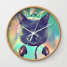 galactic Cats Saga 3 Wall Clock
