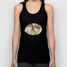 Life's a Picnic, Bring Your Friend Unisex Tank Top