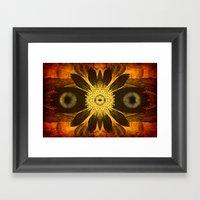 OWL SOUL Framed Art Print