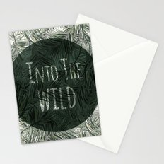 into the wild *palms Stationery Cards