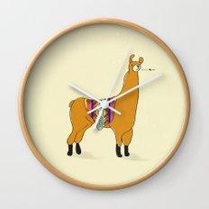 Peruvian Lama Wall Clock