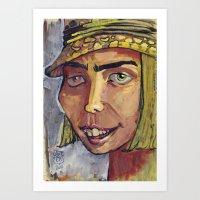 Mad Hatter 2 Art Print