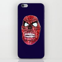 Spidey Skull iPhone & iPod Skin