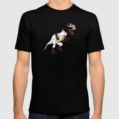 T-Rex (The X Roarcer) SMALL Mens Fitted Tee Black