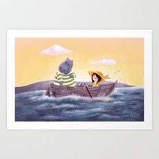 Where Are We Going Art Print