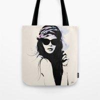 Infatuation - Digital Fashion Illustration Tote Bag