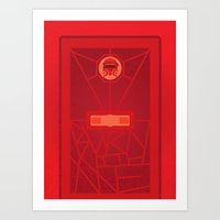 Burn With Me (doctor Who… Art Print