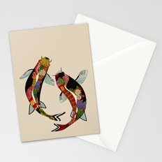 koi chamomile Stationery Cards