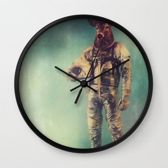 Without Words Wall Clock