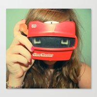 View-Master 3D Canvas Print