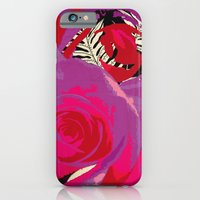 iPhone & iPod Case featuring Flowers series_v02 by Rita Acapulco