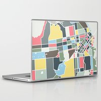 san francisco Laptop & iPad Skins featuring San Francisco. by Studio Tesouro