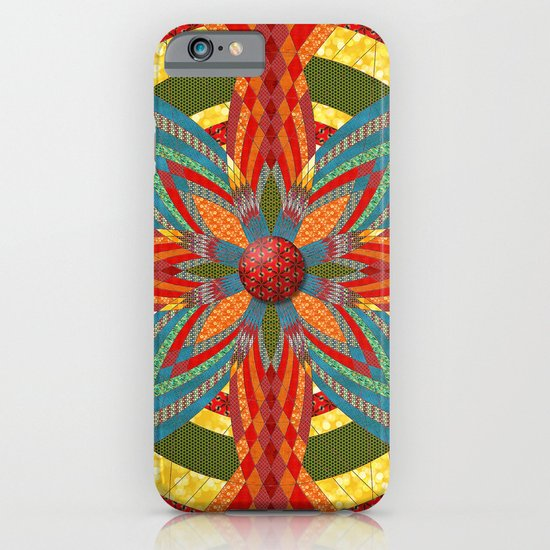 Thistle Pattern iPhone & iPod Case