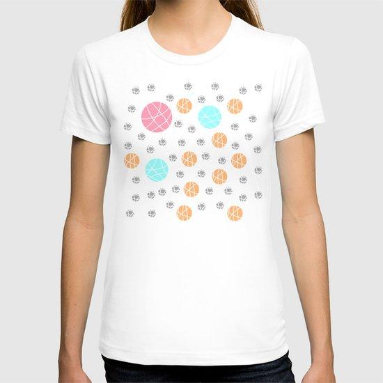 Broken Orbs (ColorOnWhite) T-shirt
