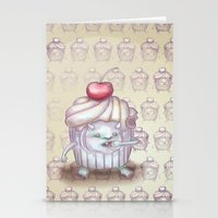 There Is A Monster In My… Stationery Cards