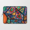 Abstract Sun Laptop Sleeve
