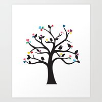 Love Blossoms Art Print
