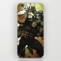hulk v.s. juggernaut iPhone & iPod Skin