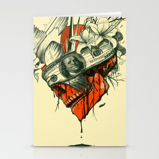 Blind Stationery Card