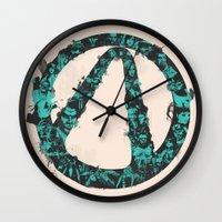 Borderlands 2 Wall Clock