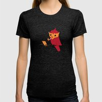 Accidental Legends: Phoe… Womens Fitted Tee Tri-Black SMALL