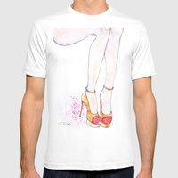 Charlotte Olympia  Mens Fitted Tee White SMALL