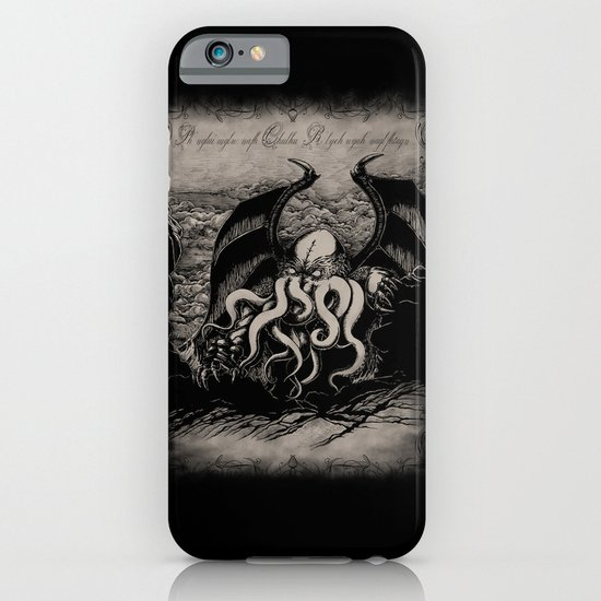 The Rise of Great Cthulhu iPhone & iPod Case