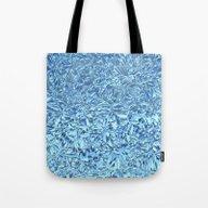 Snowfreeze On Windows Tote Bag