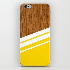 Wood StYle YeLLoW iPhone & iPod Skin