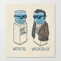 Watercool Canvas Print
