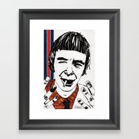 THE MODERNISTS - Woody Framed Art Print