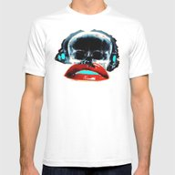 SKULLANDLIPS Mens Fitted Tee White SMALL
