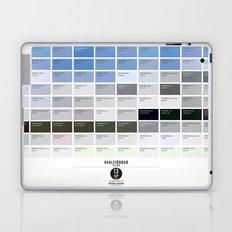 PANTONE glossary - Iceland - Hvalfjörður Laptop & iPad Skin