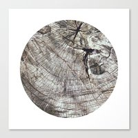 Planetary Bodies - Tree Canvas Print
