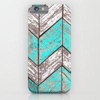 SHORELINE CHEVRONS (1 Of… iPhone 6 Slim Case