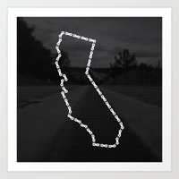 Ride Statewide - California Art Print