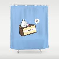 Eat Me! - Wonderland Kaw… Shower Curtain