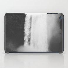 Black Waterfall iPad Case