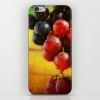 Autumn Grapes iPhone & iPod Skin