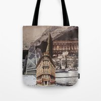 In The Middle Of Somewhe… Tote Bag