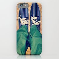 iPhone & iPod Case featuring Stand by Sir Harvey Fitz