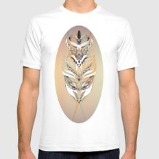 Mirror Mirror Mens Fitted Tee SMALL White