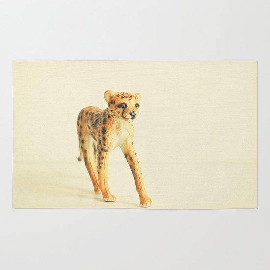 Catwalk Cheetah Area & Throw Rug