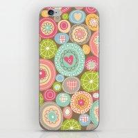Fun Circles iPhone & iPod Skin