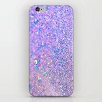 Glitter is the best medicine iPhone & iPod Skin