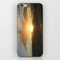Hawaiian Sunset iPhone & iPod Skin