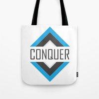 CONQUER Tote Bag