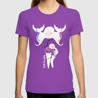 Endometriosis & Miscarri… Womens Fitted Tee Ultraviolet SMALL