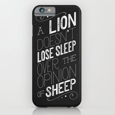 Lion Slim Case iPhone 6s