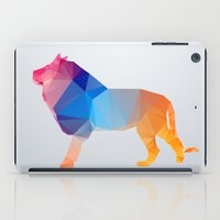 Glass Animal Series - Lion iPad Case